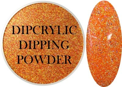Dipcrylic Acrylic Dipping Powder - Glitter Collection - Candy Corn