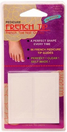 Konad French Tip Guide - Toes