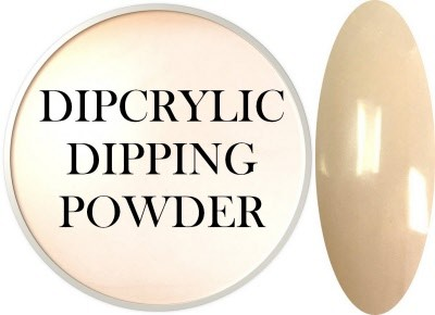 Dipcrylic Acrylic Dipping Powder - Shabby Chic Collection - Linen